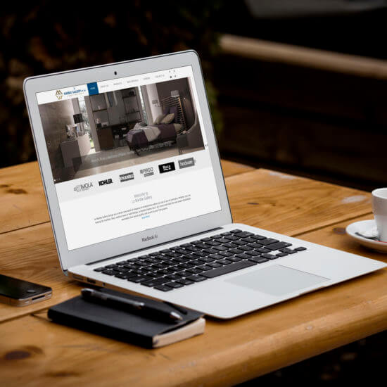Le Marble Gallery Web Design & Development