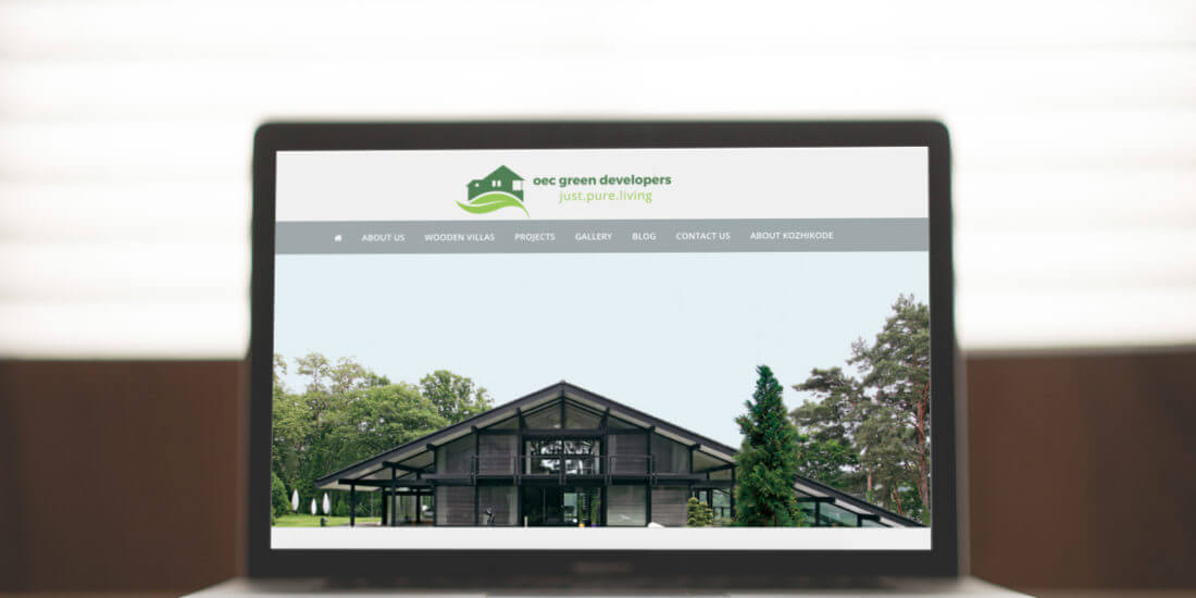 oec green developers web design development-project