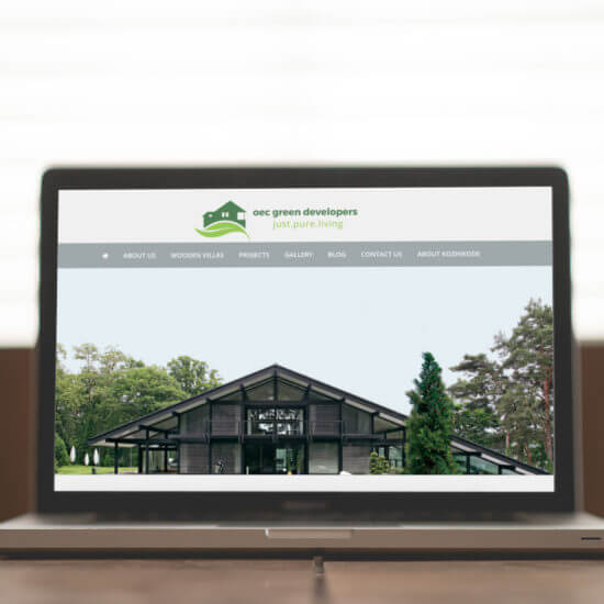 oec green developers web design development-project