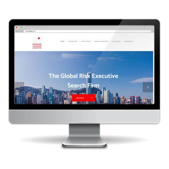 Stirling Atlantic Associates Website design & development using wordpress