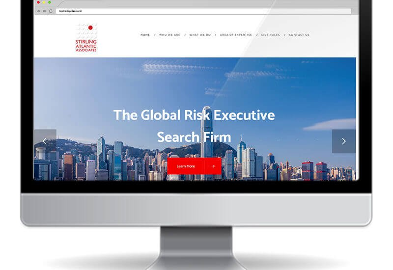 Stirling Atlantic Associates Website design & development using wordpress