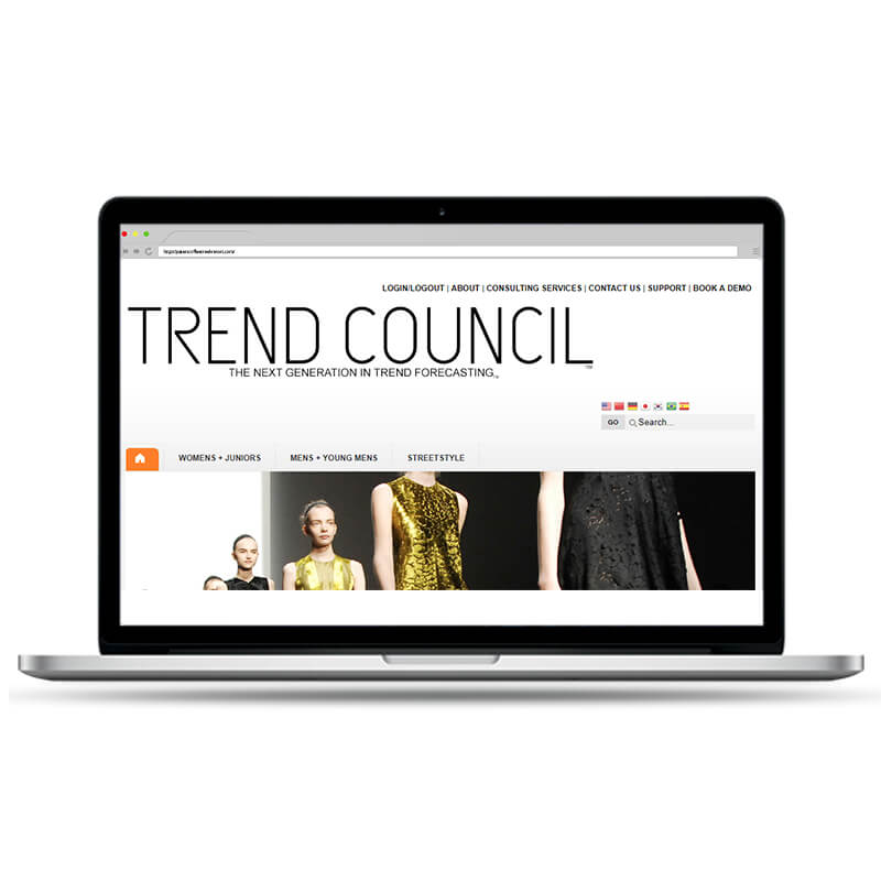 Trend Council Website Maintenance