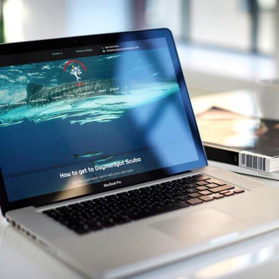 Global Scuba Website Design, Development Team Member